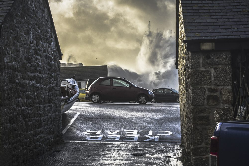 Storm photographer Cornwall
