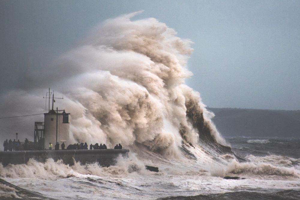 Wales storm Porthcawl